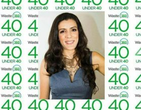 Michelle Salas, Has Been Announced As A Winner Of The Waste360 40 Under 40 Award