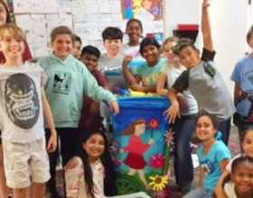 Recycling Bin Decorating Contest